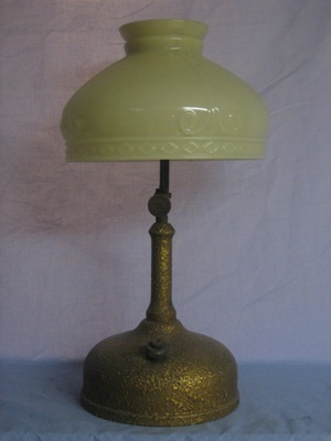 Jerrys coleman collection other lamps akron also sold this basic lamp through montgomery ward department stores although its sister has a built in pump and instant lite capabilities aloadofball